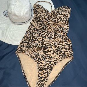 One piece Swimsuit women halter / M